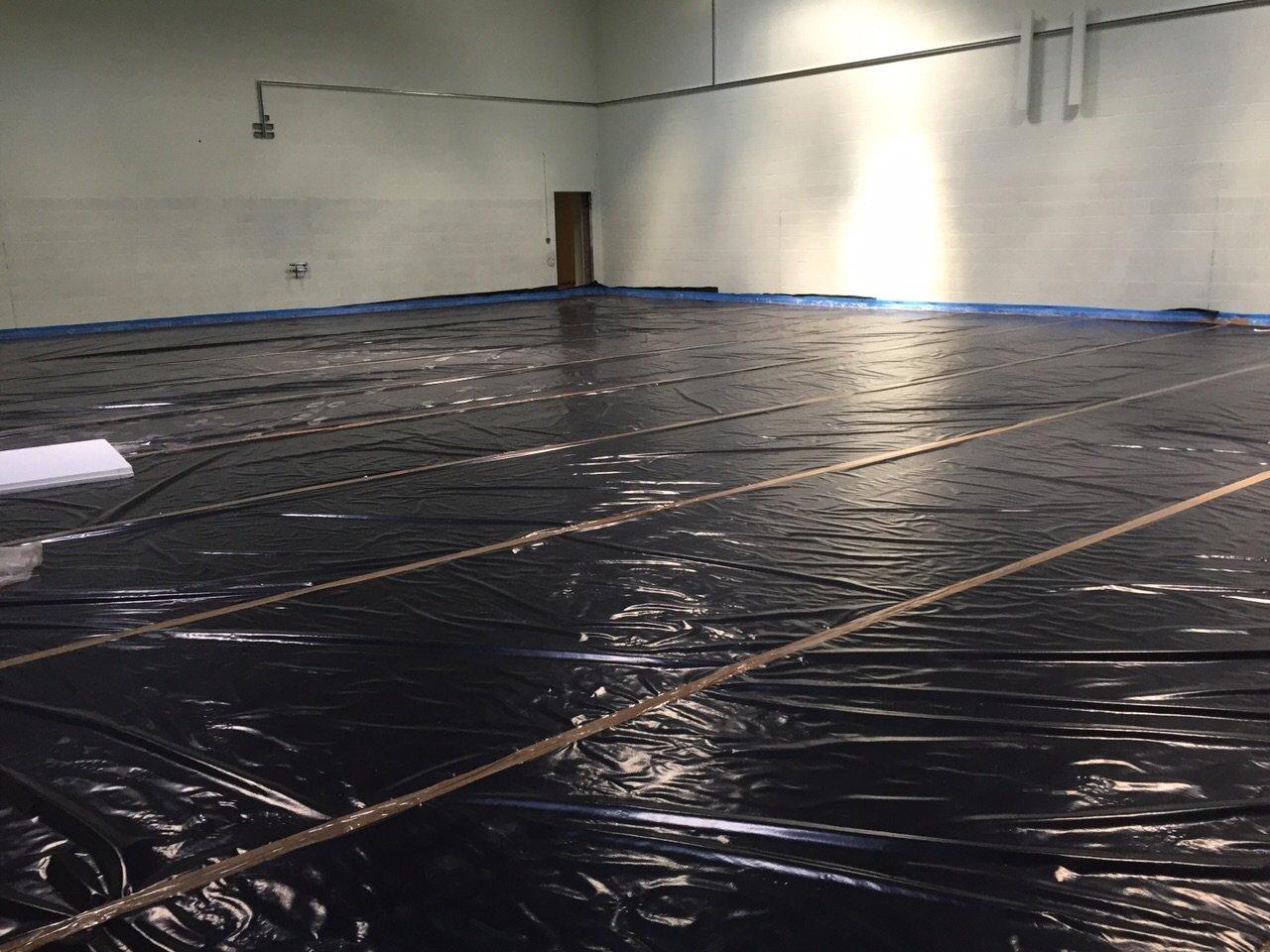 Scunthorpe UTC Underfloor Heating Install