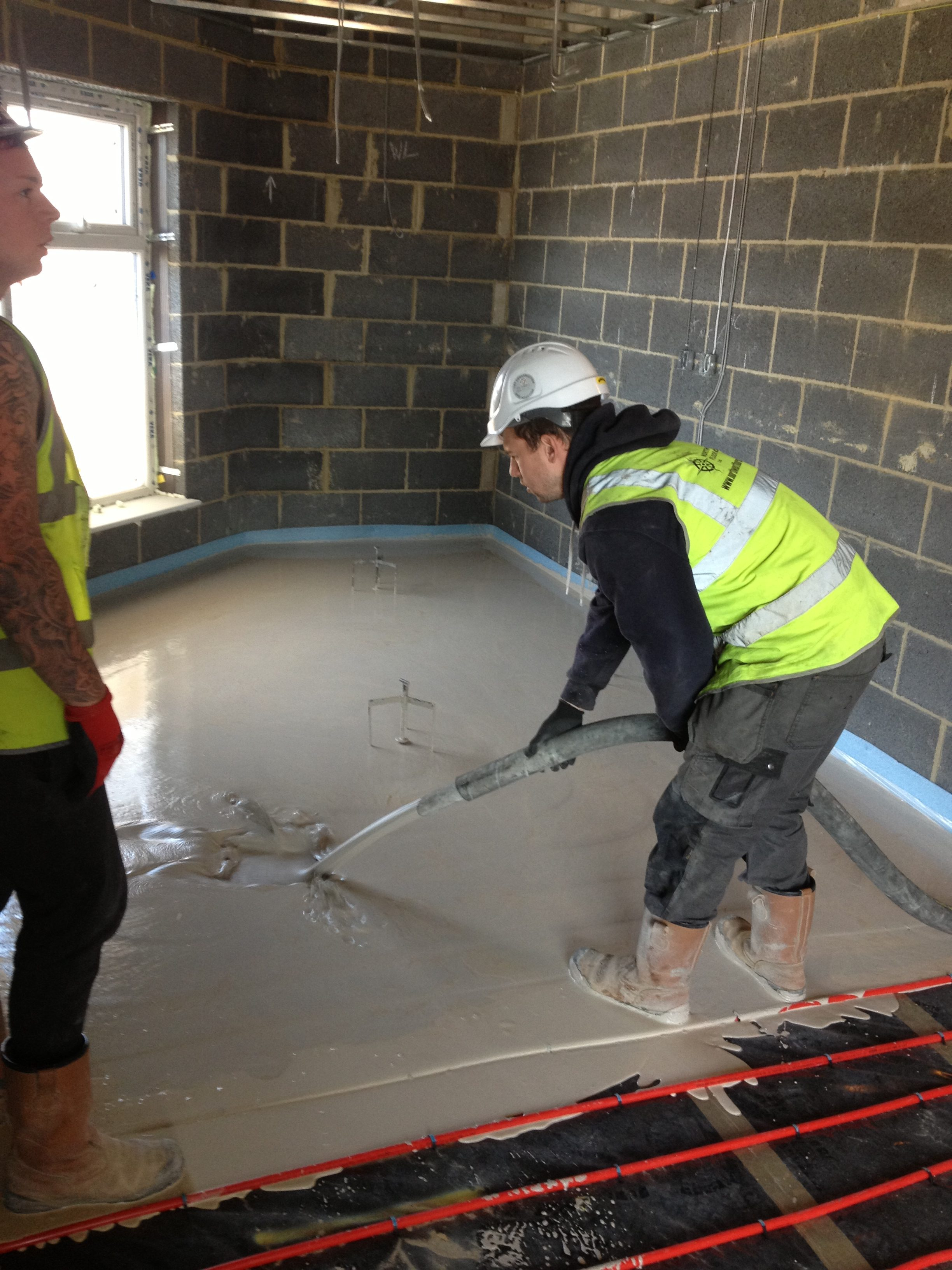 Esher Carehome In Surrey Ufh And Screed North West