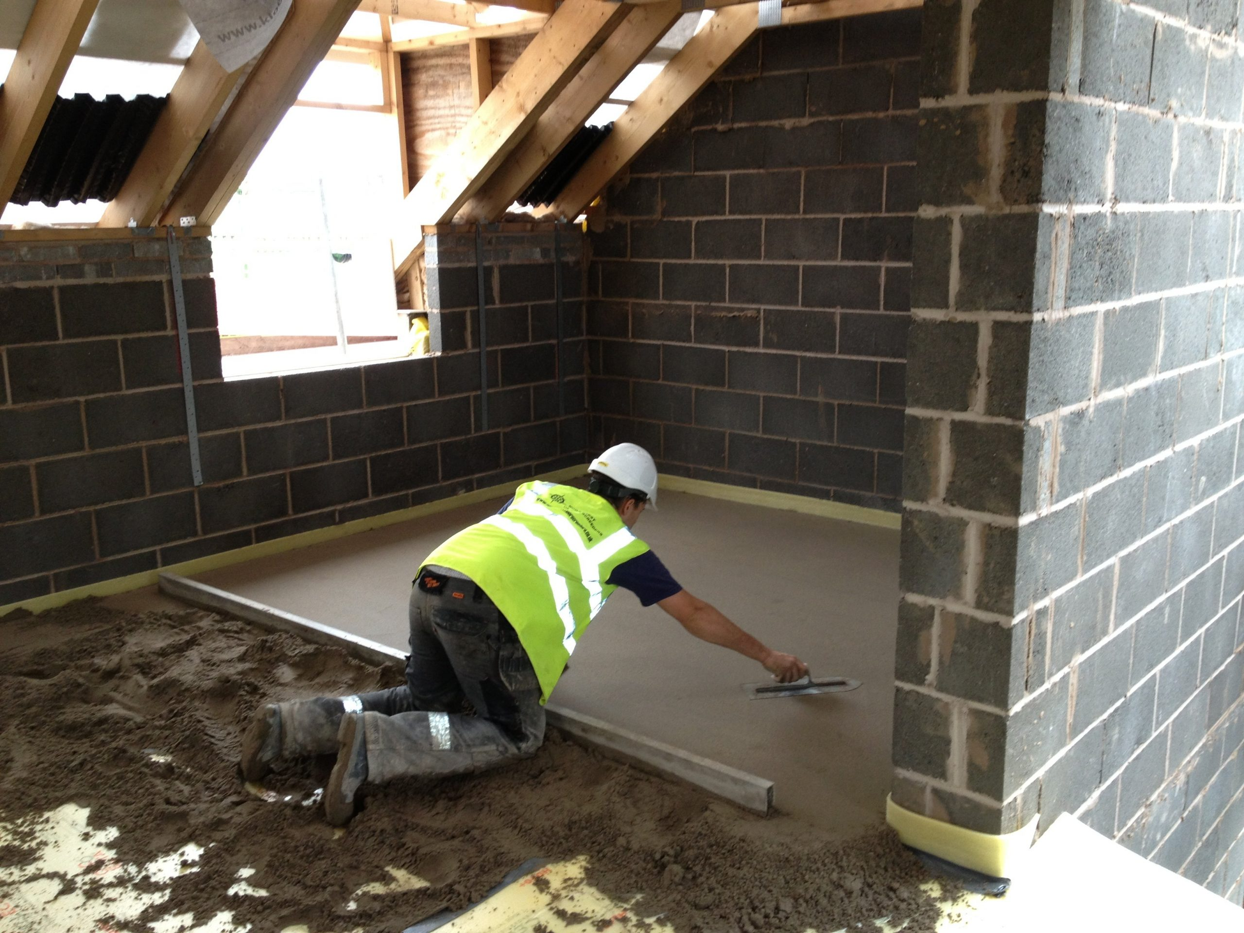 Apartment in Bolton with Acoustic Floor Screed