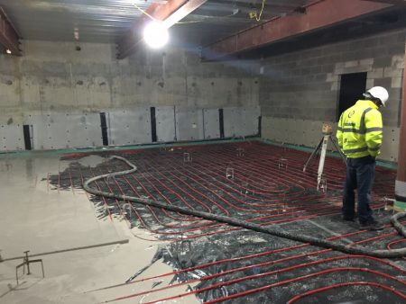 UFH and Flowing Screed in Oldham
