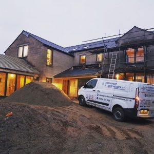 UFH & Screed in Nelson – Lancashire